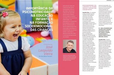 Reportagem com Leopoldo Vieira para Revista Transformando